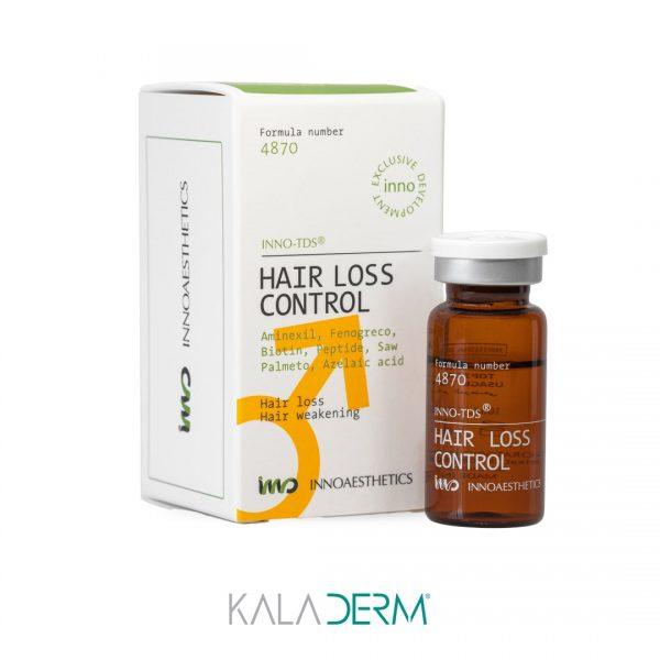 کوکتل مزوتراپی درمان ریزش مو اینواستتیک مدل HAIR LOSS CONTROL