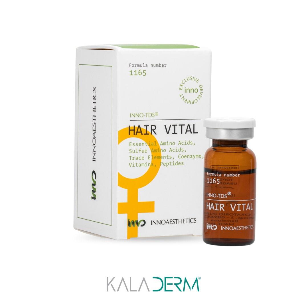 کوکتل مزوتراپی درمان ریزش مو اینواستتیک مدل HAIR VITAL